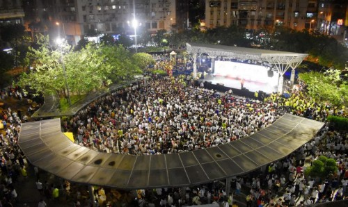 現場氣氛熱烈,入場人次超過五千人