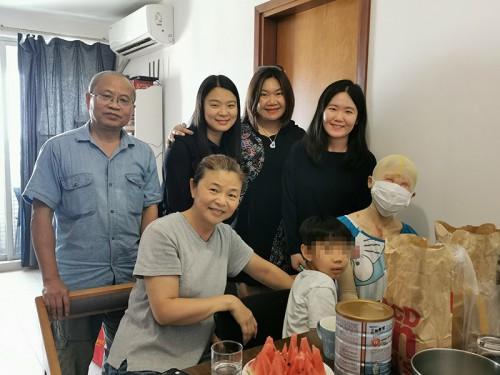陳明金基金會探訪劉夢瑩女士