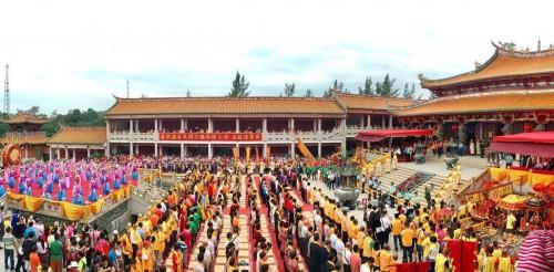 媽祖文化旅遊節今起舉行 陳明金冀帶動澳旅遊文化發展
